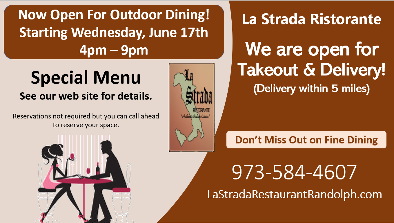 la strada outdoor dining